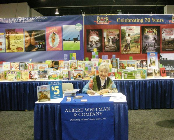 Kay Signing at ALA