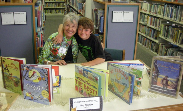 Book Signing at Library